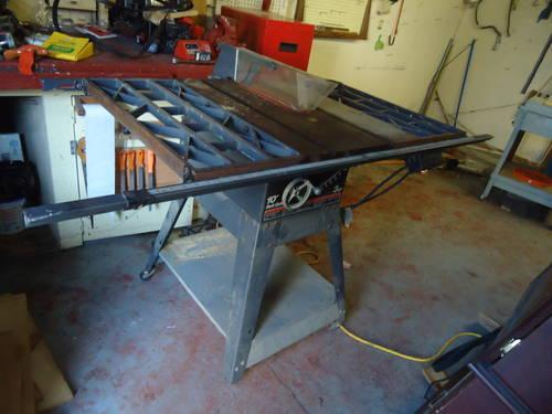 10 Quot Sears Craftsman Contractor Table Saw Model 113