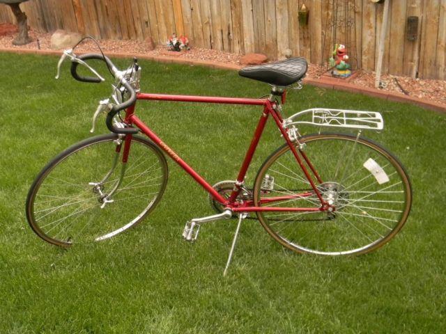 "10 Speed Bike Rims : Speed men s univega ""super ten road bike frame"