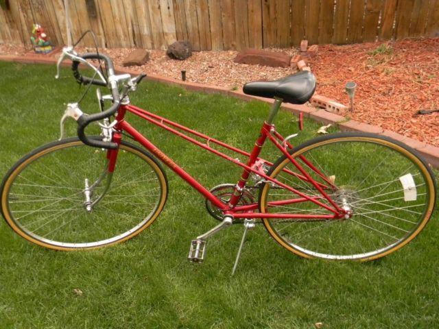 10 Speed Bike Rims : Speed woman s univega road bike frame wheels