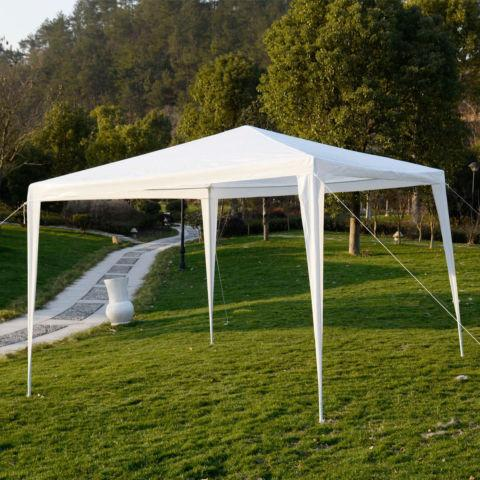 10x10Outdoor Canopy Party Wedding Tent Garden Pavilion Cater
