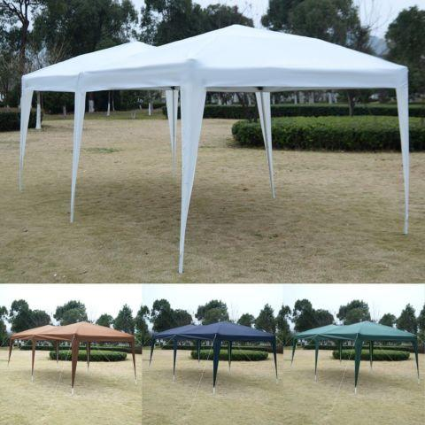 10X20 EZ POP UP Gazebo Wedding Party Tent Folding Canopy Bag