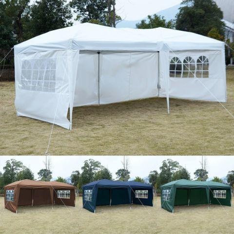 10X20EZ POP UP Tent Gazebo Wedding Party Folding Canopy Bag