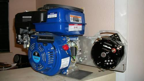 100 Amp One Wire Charging System 6 5 Hp Engine For Sale