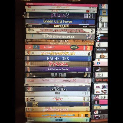 100 DVDs Hindi Bollywood Indian Movies