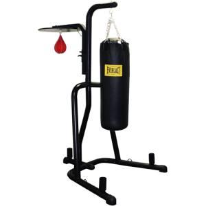 100 lb heavy bag with stand - $175 Lincoln
