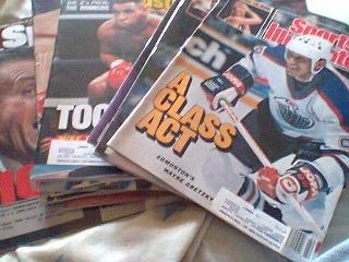 $100 Misc Sports Illustrated Magazines 1980's-1990's