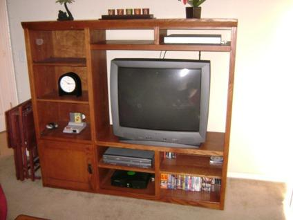Mission Oak Entertainment Center For Sale In Fort Collins Colorado Classified