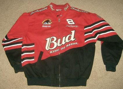 $100 OBO Mens Budweiser Dale Earnhardt Jr. Jacket , Large by Chase Authentic