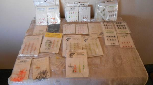 100'S OF FISHING FLYS-LURES & BOLBERS - $125