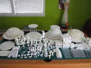 100u0027s of Wilton Cake Separators Plates Pillars & 100u0027s of Wilton Cake Separators Plates Pillars Decorations - (N ...
