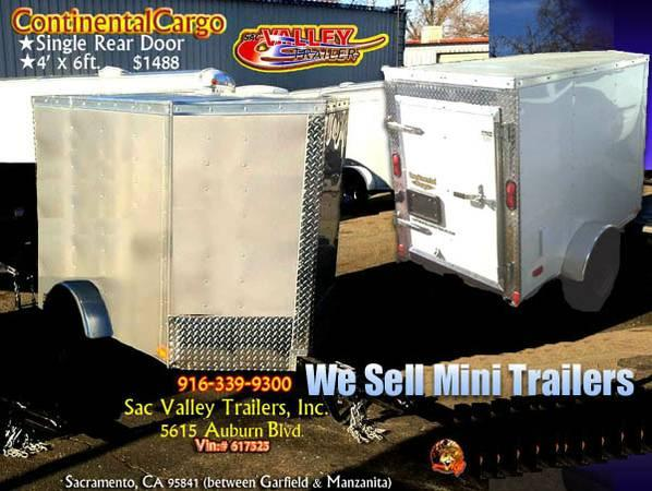 ✯ Continental Cargo's Tiny-Enclosed Trailers