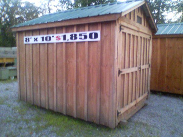 8x10 Shed Plans 270 Riversshed