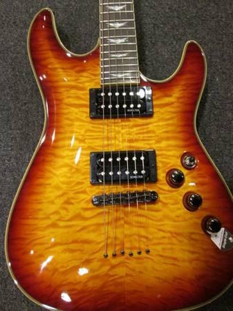 vintage Reno guitar nevada