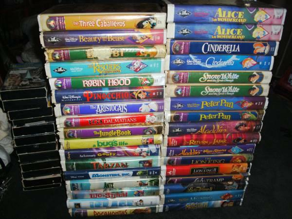 106 Vhs Kids Movies Disney Pokemon Tmnt Transformers All