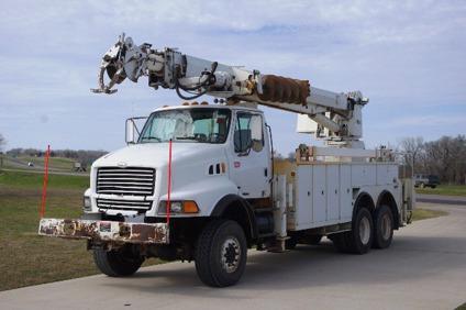 $109,900, Altec D4065-TR / 2000 Sterling LT8500 6X6 Digger Derrick - Stock  # 13063