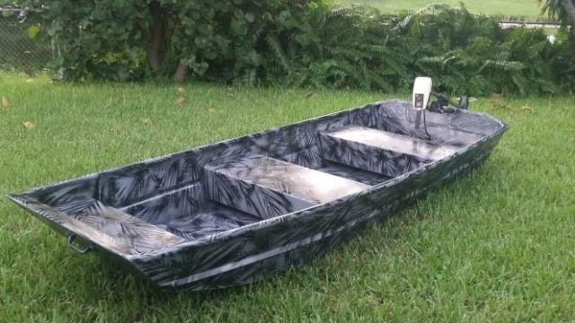 10ft landau jon boat w trolling motor for sale in west
