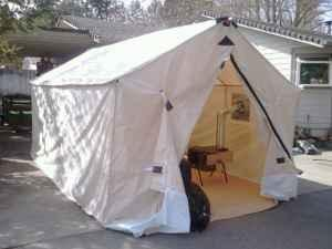10x20 Canvas Cabin Tent Grants Pass For Sale In