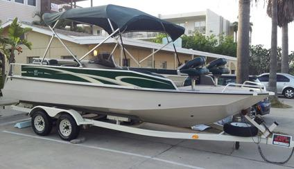Obo 1997 Sun Tracker Party Deck 21 Fishing Ski Wake