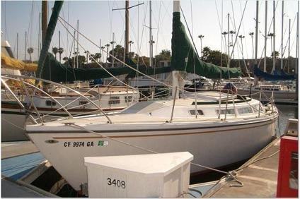 Obo Sailboat 1977 Catalina 30 For Sale In Marina Del Rey