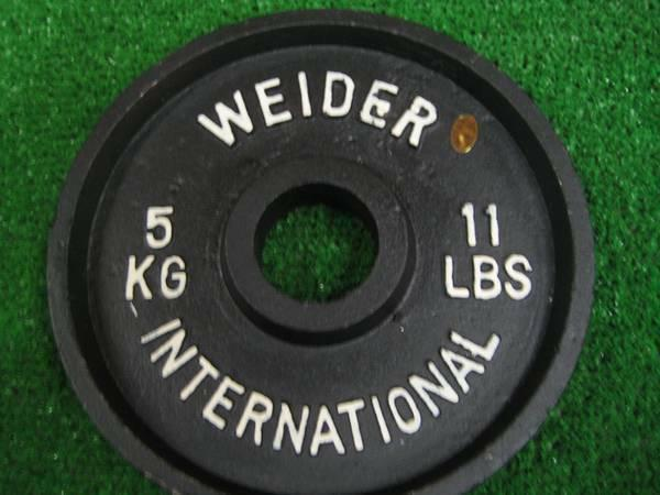 11 Lbs Pound Olympic Plates For Weight Lifting 2