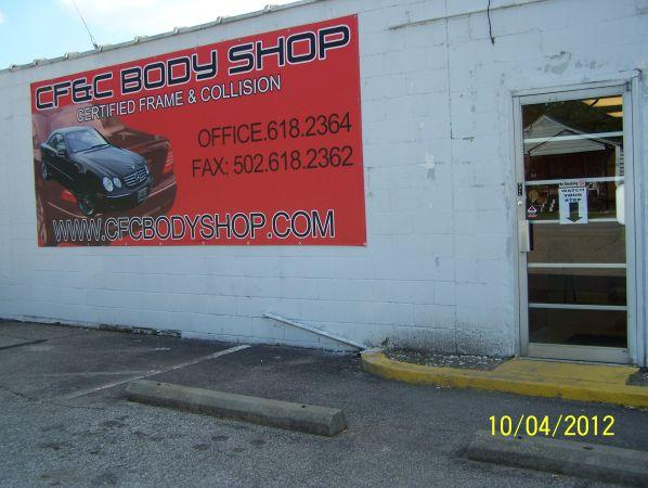 1100ft 178 Body Shop For Lease For Sale In Louisville