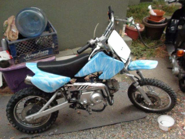 110cc 4 Gear Semi Auto Dirt Bike Honda Clone Motor