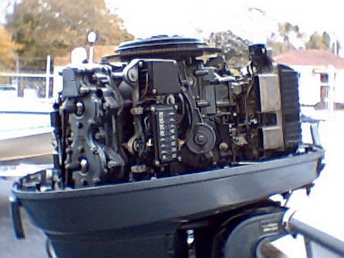 115 hp, 130 hp Yamaha XL 1992 -, lower unit, carbs, trim