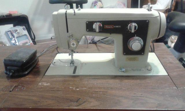 40's KENMORE SEARS 40 SEWING MACHINE IN CABINET For Sale In Beauteous Sears Kenmore Sewing Machine 5186