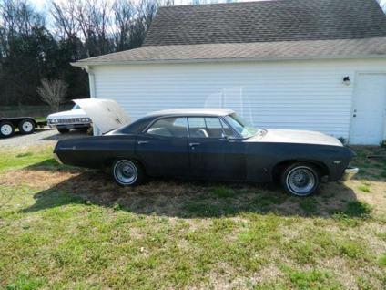 obo 1967 chevrolet impala 4 door hardtop supernatural 67 chevy 4dr for sale in quebeck. Black Bedroom Furniture Sets. Home Design Ideas