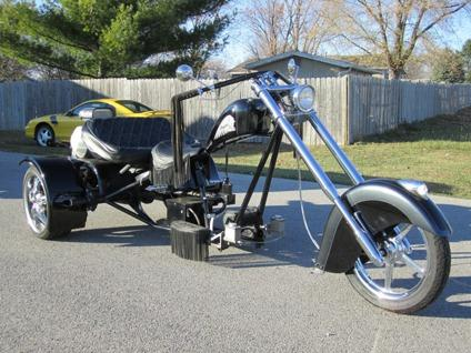 obo custom vw trike for sale in adrian michigan. Black Bedroom Furniture Sets. Home Design Ideas