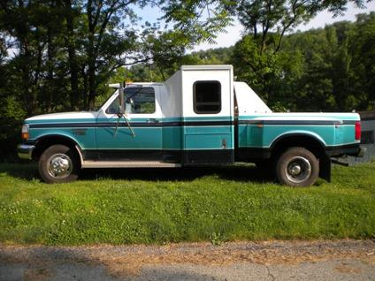 $12,500 F350 Custom Diesel Dually Sleeper Truck