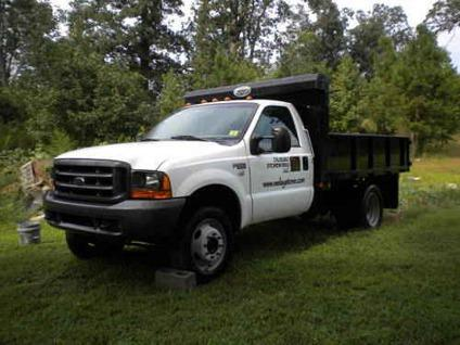 1999 ford f550 7 3l powerstroke with 10 39 dump truck 114k miles for sale in waxhaw north. Black Bedroom Furniture Sets. Home Design Ideas