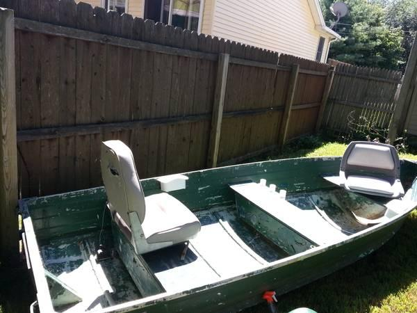 12 39 aluminum starcraft fishing boat for sale in for Best aluminum fishing boat for the money