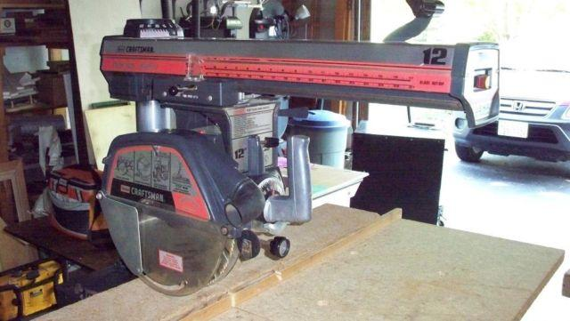 """12"""" Craftsman Radial Arm Saw For Sale In Barrington Hills"""