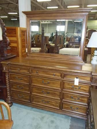 12 Drawer Dresser With Mirror For Sale In Greenwich Pennsylvania Classified