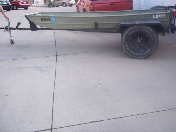 12 ft lowe flat bottom fishing boat for sale in west des for Fishing boats for sale in iowa