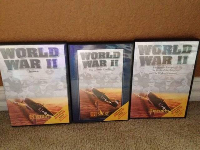 12 History Channel DVD's