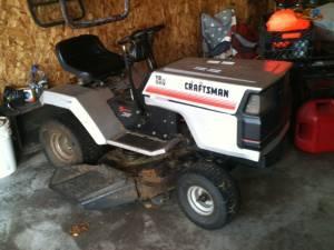 """Craftsman Lt1000 Riding Mower >> 12 hp Craftsman 38"""" riding lawn mower - (Lake Nebagamon ..."""