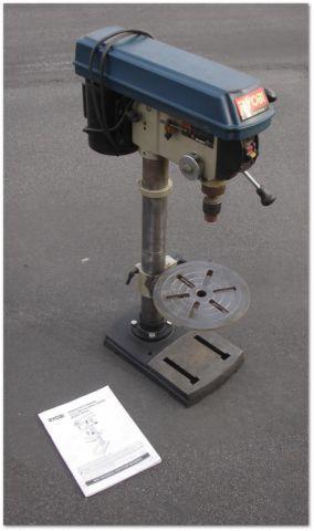 12 Inch Drill Press By Ryobi 12 Speed For Work Bench