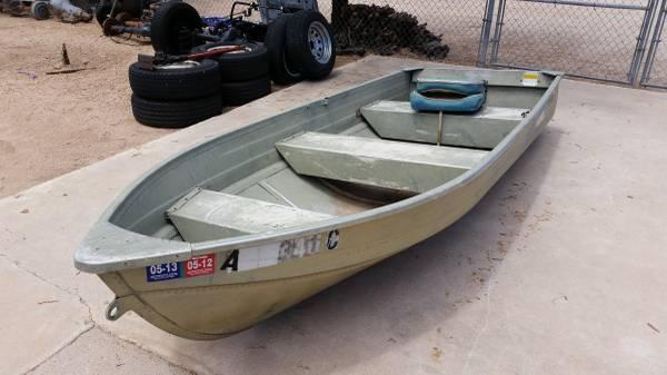 12 39 mirrocraft v hull fishing boat for sale in tucson for Best aluminum fishing boat for the money