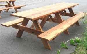 12 Redwood Picnic Table Eugene For Sale In Eugene