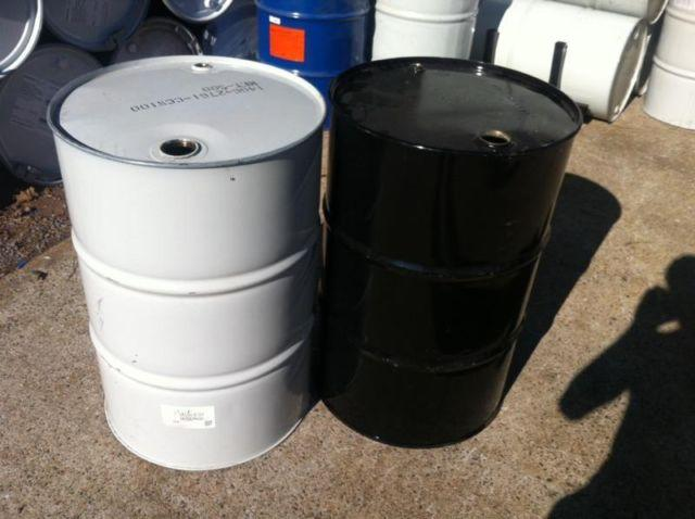 $12 STEEL BURN BARREL METAL BURNING BARRELS ATLANTA