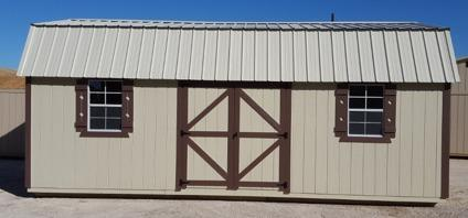 12'x24' Lofted Barn Storage shed portable building