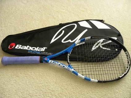$125 BABOLAT Pure Drive Roddick GT Plus Tennis Racquet