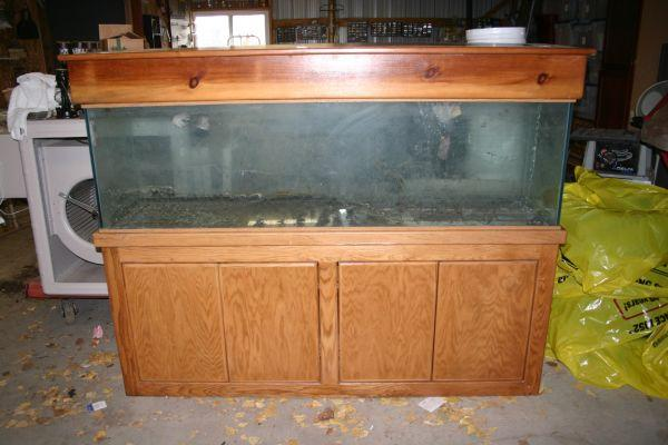125 gallon fish aquarium tank with stand and cover for 125 gallon fish tank for sale