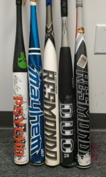 $125 OBO, Miken Psycho, Demarini, Mizuno & Worth Mayhem Softball Bats
