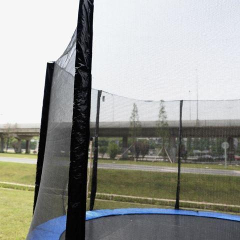 12FT Round Trampoline Enclosure Safety Net Fence