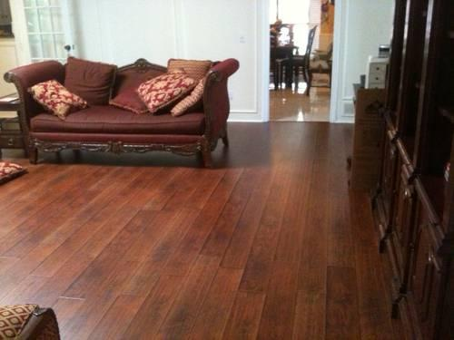 12mm Hand Scraped Laminate Flooring Sf For Sale In Plano