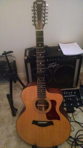 12string taylor 355ce guitar for sale