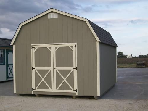 12x16 Elite Lofted Barn For Sale In Itasca Texas